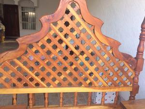Recámara de madera de mezquite