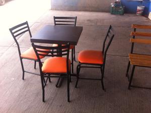 sillas bancos mesas periqueras para bar cafe restaurante