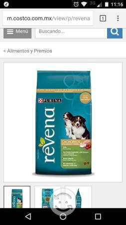 Alimento para cachorros Revena razas medianas