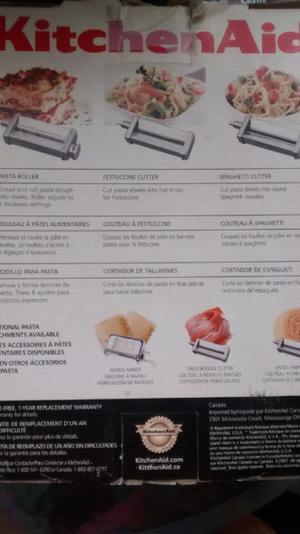 KitchenAid accesorio para batidora