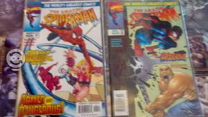 Marvel Comics Spider Man 90`s con Guia Univ Marvel