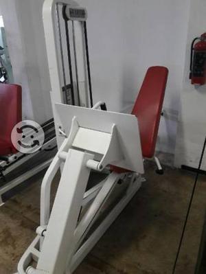 Paquete gimnasio 12 aparatos profesional (210 mil)