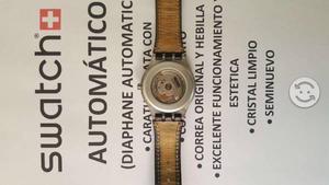 Reloj swatch automatico seminuevo
