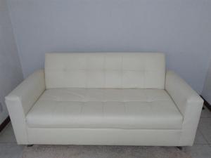 Sofa Cama (sillon de dia cama de noche) imitacion piel