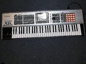 Teclado profesional Roland fantom x6
