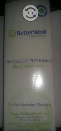 Cepillo Alaciador Electrico PRO-Iones Betterware
