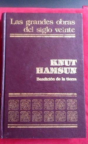 Libro Bendicion de la Tierra de Knut Hamsun Edicion de Lujo