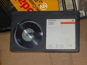 Lote de 12 cassettes formato Beta
