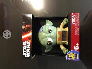 Reloj Despertador Bulb Botz Yoda Star Wars 3.5 Nue