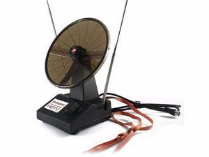 Antena P/ Tv Digital Hdtv Fussion Interior Señales Uhf Vhf