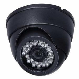 Cámara Domo De Seguridad Color Visión Nocturna Cctv 3.6mm