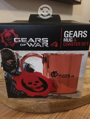Gears of War 4 Taza y Porta taza de colección