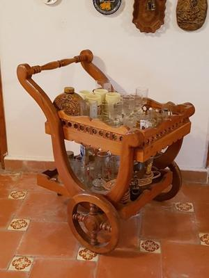 Carreta de madera para jard n posot class for Carreta de madera para jardin