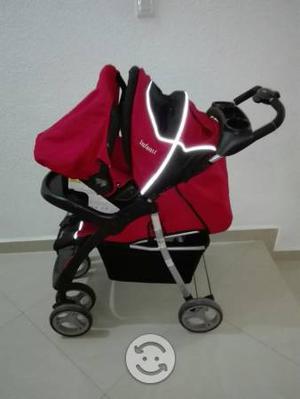 Carreola infanti con asiento para auto