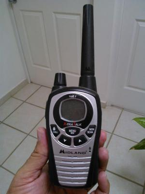 PAQUETE DE 2 RADIOS PORTATIL MARCA MIDLAND LxT500