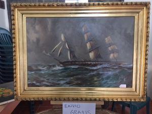 Pinturas al oleo con marco varios tamaños, estilos y
