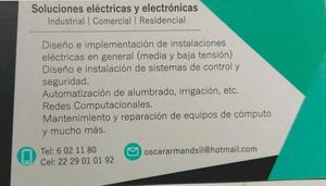 SOLUCIONES ELECTRICAS Y ELECTRONICAS EN GENERAL