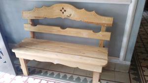 Banca de madera