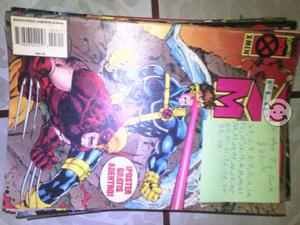 Comic x men flip book de los 90s
