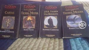 Libros de J.R.R Talkien en buen estado de conserva