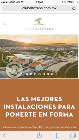 Membresia Club Altozano Querétaro