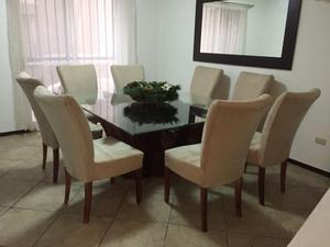 Mesa de comedor de raíz de sabino para 8 personas