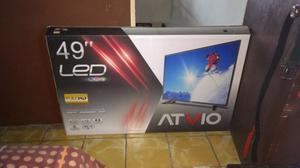 Television de 49 pulgadas pantalla led atvio nueva posot for Mesa tv 49 pulgadas