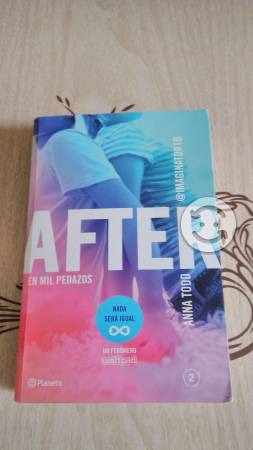After, Anna Todd, libro dos, Buen estado