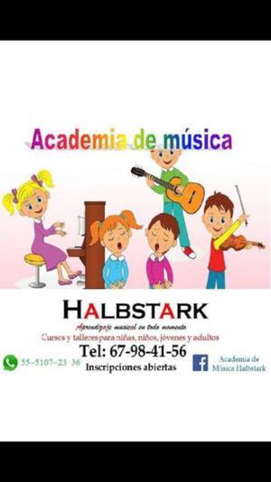 Clases de música para niños jóvenes y adultos