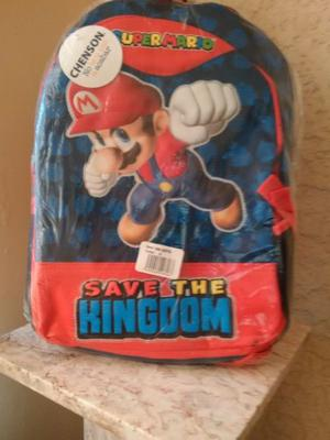 "Mochila Chenson Super Mario ""Save The Kingdom"""