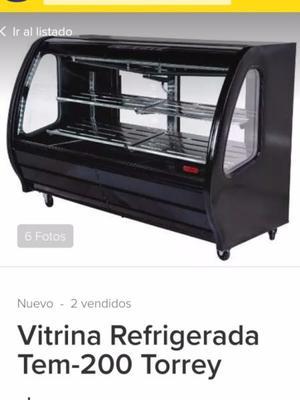 Por cierre de restaurante remato refrigerador vitrina