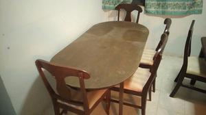 Vendo Mesa 6 sillas