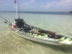 kayak pesca PELICAN CATCH 120 NXT