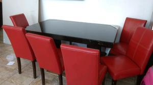 Comedor 6 sillas Seminuevo