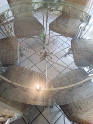Comedor de Forja 6 sillas