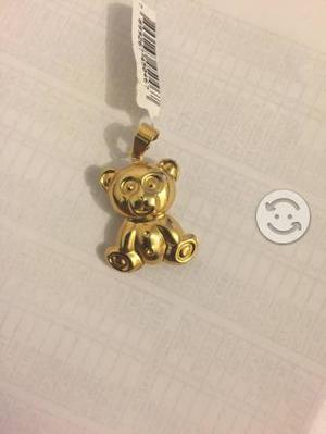 Dije de oso de oro laminado marca SKILLUS