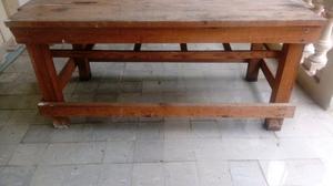 Gran mesa de trabajo buenísima madera