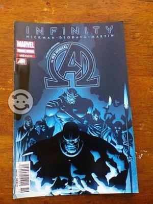 Infinity the new avengers #8 comic televisa