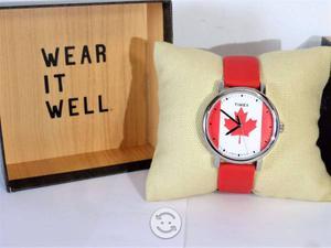 Reloj timex canada,luz indiglo,maquina japonesa,n
