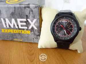 Reloj timex expedition luz,fechador,correa resin,a