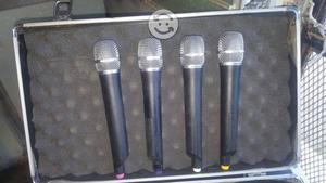 Set de micrófonos inalambricos voco pro uhf