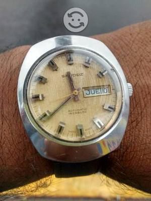 Reloj sandoz automatico suizo vintage