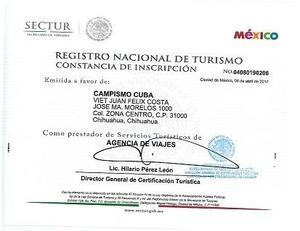 VENDO AGENCIA DE VIAJES ONLINE CAMPISMO CUBA