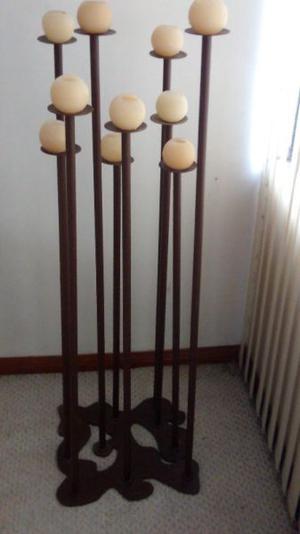 Candelabro de Piso para 10 velas