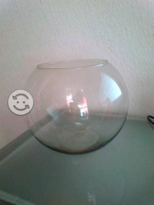 Pecera de esfera con accesorios