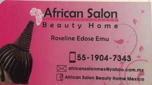 AFRICAN SALON Beauty home Mexico