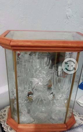 Copas para boda de cristal