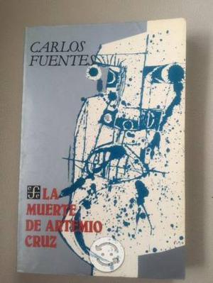 Libro La Muerte de Artemio Cruz de Carlos Fuentes