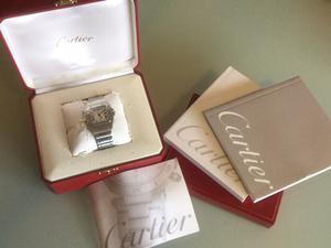 Reloj Cartier Santos Galbee XL Acero Automático