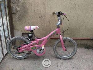 Bicicleta de niña rodado 16 buen trato